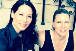 Lucy Liu & Ellen Stockbridge